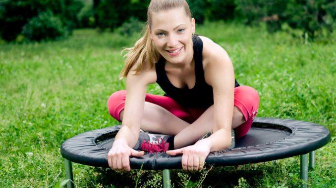 Gartentrampolin für Fitness
